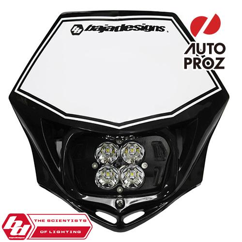 BajaDesigns 正規品 バイク用 Squadron Proシリーズ LED レースライト ブラック ※DC用