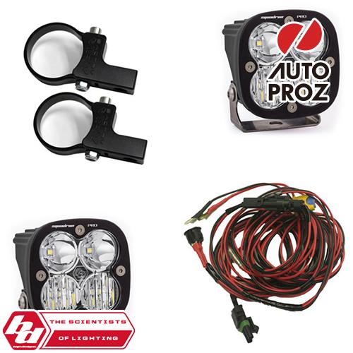 [BajaDesigns 正規品] UTV用 Squadron Proシリーズ LED ライトキット ※1.75インチホライゾンタルマウント付