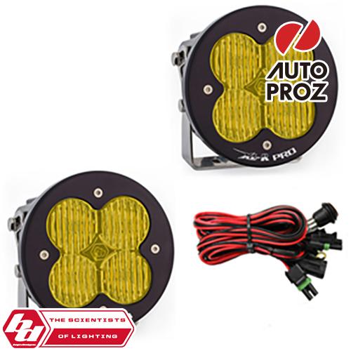 BajaDesigns 正規品 XL-R Proシリーズ LED ワイドコーナリングライト アンバー 2個