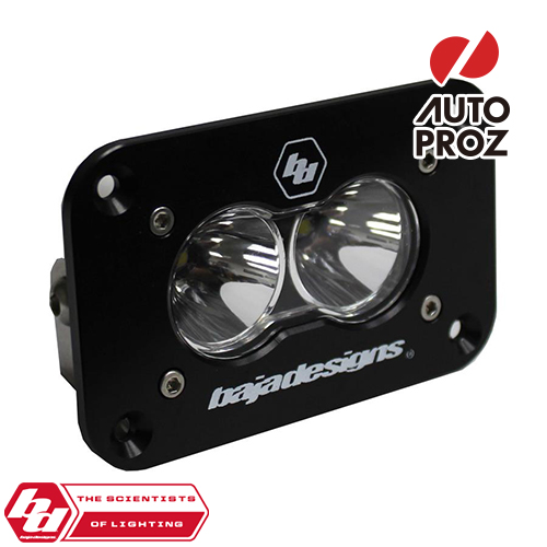 [BajaDesigns 正規品] S2 Sportシリーズ LED スポットライト ※フラッシュマウント