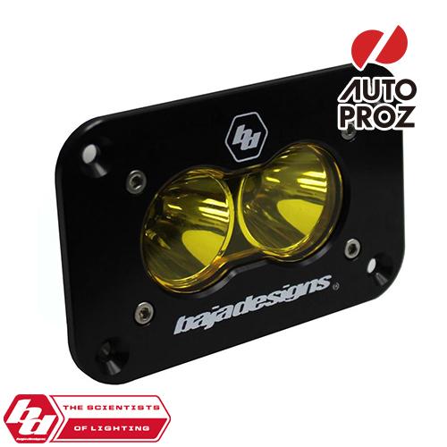 [BajaDesigns 正規品] S2 Sportシリーズ LED スポットライト アンバー ※フラッシュマウント