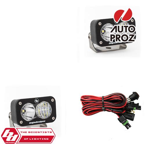 [BajaDesigns 正規品] S2 Sportシリーズ LED スポットライト ドライビングコンボライト 2個