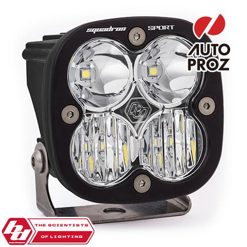 [BajaDesigns 正規品] Squadron Sportシリーズ LED ドライビングコンボライト ※本体カラー:ブラック
