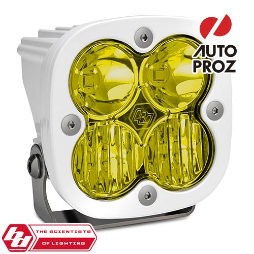 [BajaDesigns 正規品] Squadron Sportシリーズ LED ドライビングコンボライト アンバー ※本体カラー:ホワイト
