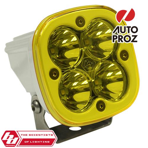 [BajaDesigns 正規品] Squadron Sportシリーズ LED シーンライト アンバー ※本体カラー:ホワイト
