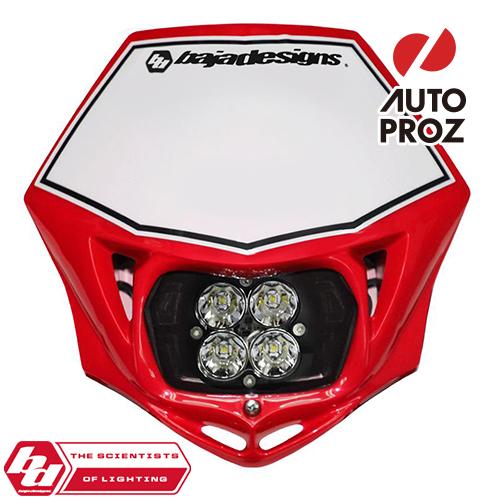 BajaDesigns 正規品 バイク用 Squadron Sportシリーズ LED レースライト レッド ※DC用