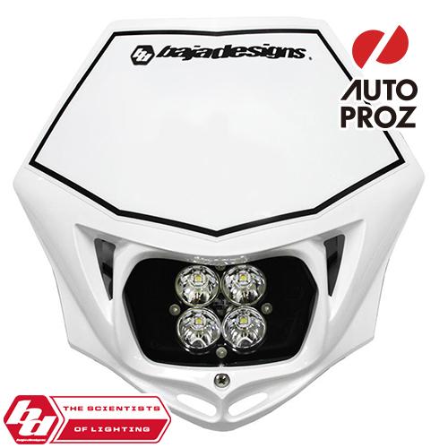 BajaDesigns 正規品 バイク用 Squadron Sportシリーズ LED レースライト ホワイト ※DC用