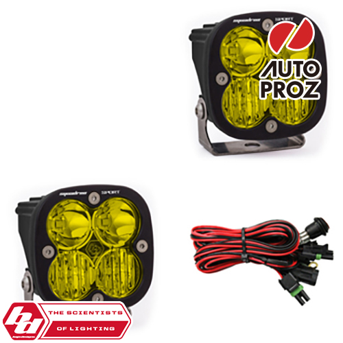 [BajaDesigns 正規品] Squadron Sportシリーズ LED ドライビングコンボライト アンバー 2個