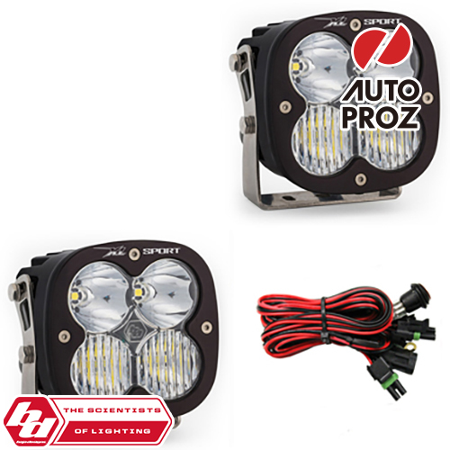 [BajaDesigns 正規品] XL Sportシリーズ LED ドライビングコンボライト 2個