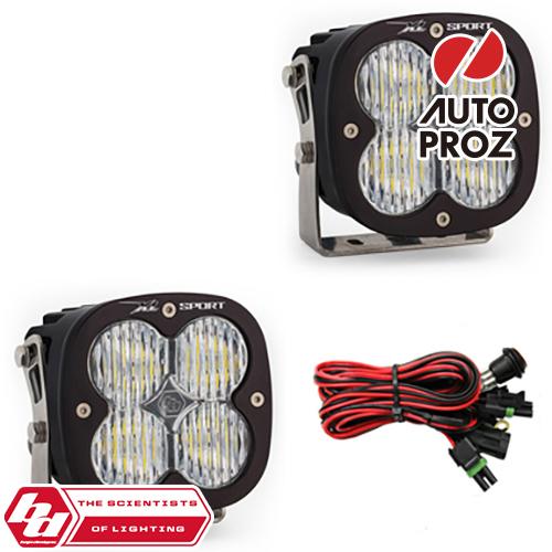 [BajaDesigns 正規品] XL Sportシリーズ LED ワイドコーナリングライト 2個