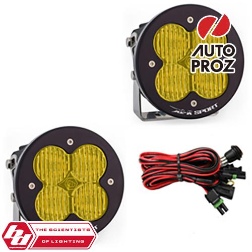 [BajaDesigns 正規品] XL-R Sportシリーズ LED ワイドコーナリングライト アンバー 2個