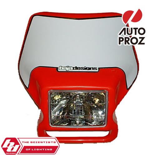 BajaDesigns 正規品 バイク用 ヘッドライト レッド