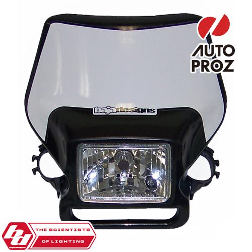 BajaDesigns 正規品 バイク用 ヘッドライト ブラック