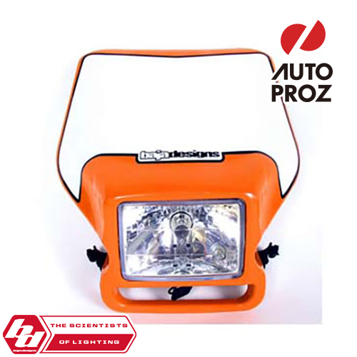 BajaDesigns 正規品 バイク用 ヘッドライト オレンジ