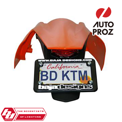 BajaDesigns 正規品 KTM EXC/XC/XCW 2008-2011年 フェンダー ※LEDテールライト付