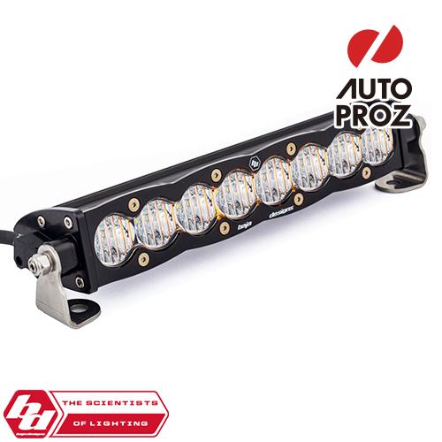 [BajaDesigns 正規品] S8シリーズ 10インチ LED ライトバー ワイドドライビング ホワイト