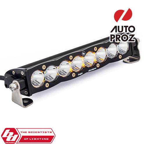 BajaDesigns 正規品 S8シリーズ 10インチ LED ライトバー シーン ホワイト