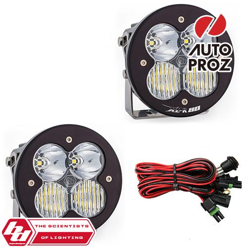 [BajaDesigns 正規品] XL-R 80シリーズ LED ドライビングコンボライト 2個