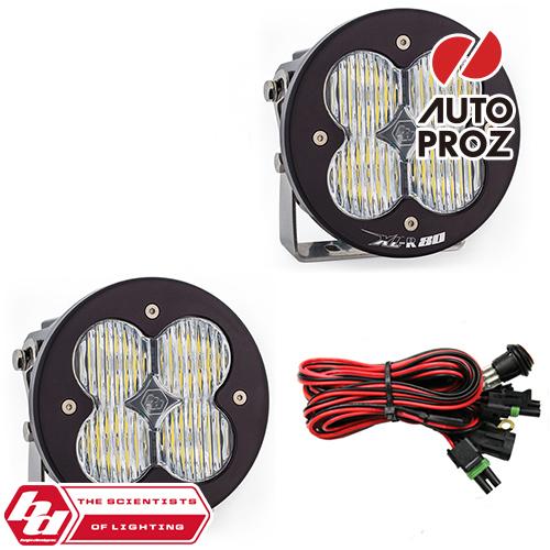 [BajaDesigns 正規品] XL-R 80シリーズ LED ワイドコーナリングライト 2個