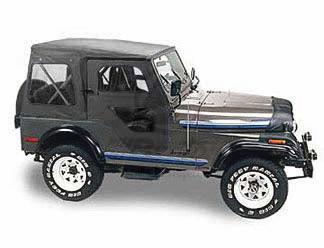 オリジナル 【US直輸入正規品】BESTOP (べストップ)Replace-A-Top(リプレイスアトップ)Jeep (ジープ)CJ-5 1976-1983年(ドアスキン付)※ブラック, Eimys World 753612d6