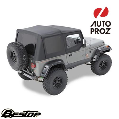 【US直輸入正規品】BESTOP (べストップ)Replace-A-Top(リプレイスアトップ)Jeep Wrangler(ジープ ラングラー)1986-1987年(ドアスキン付)※ブラック