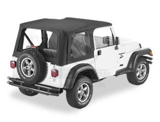 【US直輸入正規品】BESTOP (べストップ)Replace-A-Top(リプレイスアトップ)Jeep Wrangler(ジープ ラングラー)2003-2006年(ドアなし)※ブラック