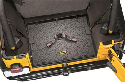 【US直輸入正規品】BESTOP (べストップ)カーゴマット(ラゲッジ用ラバーマット カーゴトレー トランクマット)Jeep Wrangler(ジープ ラングラー) Unlimited(アンリミテッド)2007-2010年