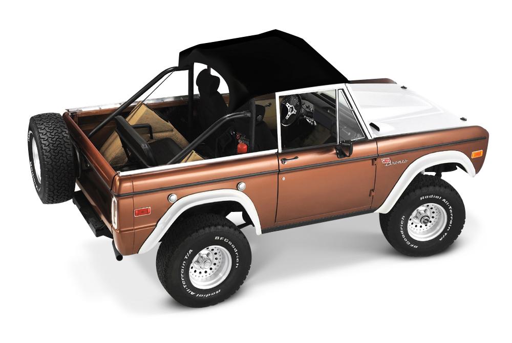 【US直輸入正規品】BESTOP (べストップ)Bikini Tops(ビキニトップ)トラディショナルタイプFord Bronco(フォード ブロンコ)1966-1977年※ブラック