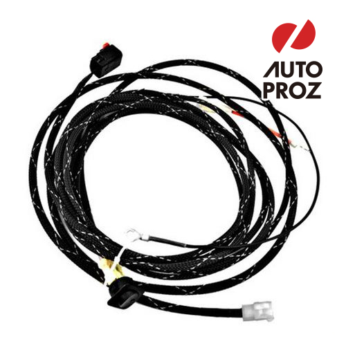 """2pc 24/"""" Fog Light Extension Cable Wire Harness+Cover for 10-17 Jeep Wrangler JK"""