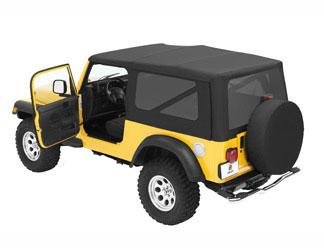 【US直輸入正規品】BESTOP (べストップ)セルクロス リプレイスアトップ(ティンテッドウィンドウ付)Jeep (ジープ)Wrangler Unlimited(ラングラー アンリミテッド) 2004-2006年(ドアスキンなし)※ブラックダイアモンド