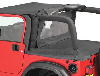 【US直輸入正規品】BESTOP (べストップ)Windjammer(ウィンドジャマー)Jeep (ジープ)Wrangler(ラングラー) Unlimited(アンリミテッド)2003-2006年※ブラックダイアモンド
