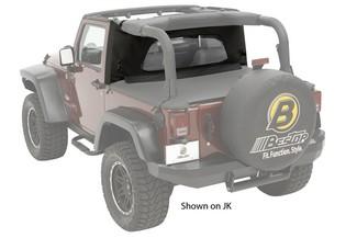 【US直輸入正規品】BESTOP (べストップ)ラップアラウンドWindjammer(ウィンドジャマー)Jeep (ジープ)Wrangler(ラングラー)1997-2002年※ブラックデニム, 中古タイヤプロショップ:a6f66007 --- sunward.msk.ru