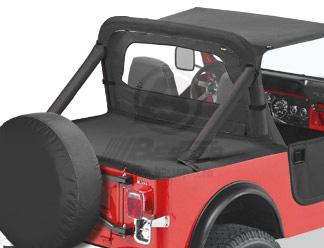 【US直輸入正規品】BESTOP (べストップ)Duster(ダスター)(ハードトップリプライスメントキット付)Jeep (ジープ)Wrangler (ラングラー) CJ-7 1980-1991年※ブラックデニム