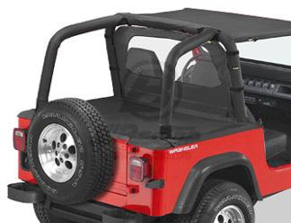 【US直輸入正規品】BESTOP (べストップ)Duster(ダスター)(ファクトリーソフトトップ用)Jeep (ジープ)Wrangler(ラングラー)1992-1995年※ブラックデニム