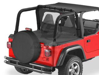 【US直輸入正規品】BESTOP (べストップ)Duster(ダスター)(ファクトリーソフトトップ用)Jeep (ジープ)Wrangler(ラングラー)1997-2002年※ブラックデニム