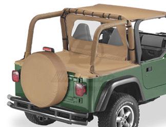【US直輸入正規品】BESTOP (べストップ)Duster(ダスター)Jeep (ジープ)Wrangler(ラングラー)1997-2002年※スパイスカラー