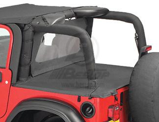 【US直輸入正規品】BESTOP (べストップ)Duster(ダスター)Jeep (ジープ)Wrangler(ラングラー)2003-2006年※ブラックデニム