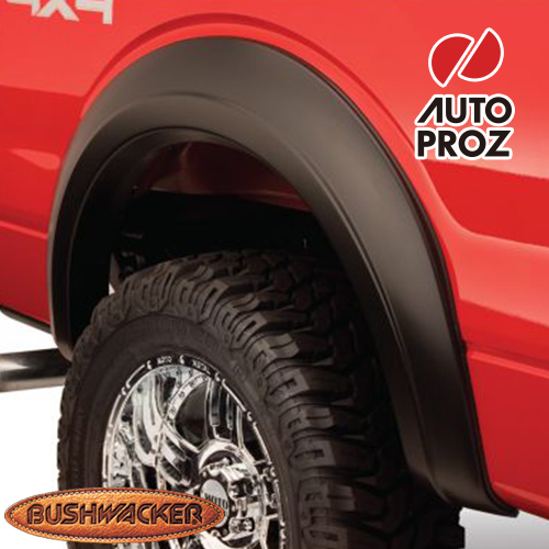 [Bushwacker 正規品] フォード F-250 スタイルサイド 6フィート7インチ/8フィートベッド 1992-1996年 Extend-A-Fenderスタイル フェンダーフレア/オーバーフェンダー ※リアのみ
