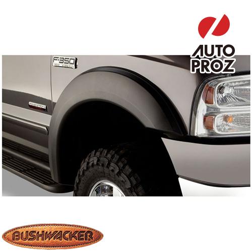 [Bushwacker 正規品] フォード F-350 スーパーデューティー 6フィート7インチ/8フィートベッド 1999-2007年 Extend-A-Fenderスタイル フェンダーフレア/オーバーフェンダー ※フロントのみ
