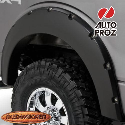 [Bushwacker 正規品] フォード F-150 スタイルサイド 5フィート6インチ/6フィート6インチ/8フィート1インチベッド 2009-2014年 ポケットスタイル フェンダーフレア/オーバーフェンダー ※リアのみ