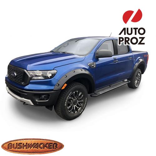 [Bushwacker 正規品] フォード レンジャー エクステンドキャブ (6フィートベッド) 2019年 ポケットスタイル フェンダーフレア/オーバーフェンダー ※フロント・リアセット