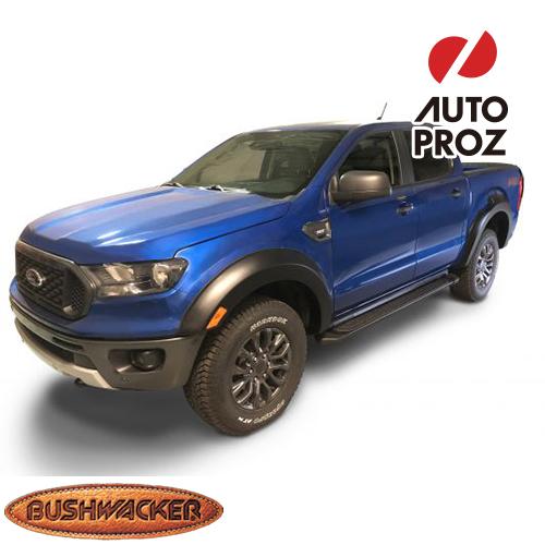 [Bushwacker 正規品] フォード レンジャー クルーキャブ (5フィートベッド) 2019年 Extend-A-Fenderスタイル フェンダーフレア/オーバーフェンダー ※フロント・リアセット