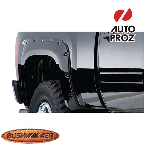 [Bushwacker 正規品] フォード レンジャー スタイルサイド 6フィート/7フィートベッド 1993-2011年 カットアウトスタイル フェンダーフレア/オーバーフェンダー ※リアのみ