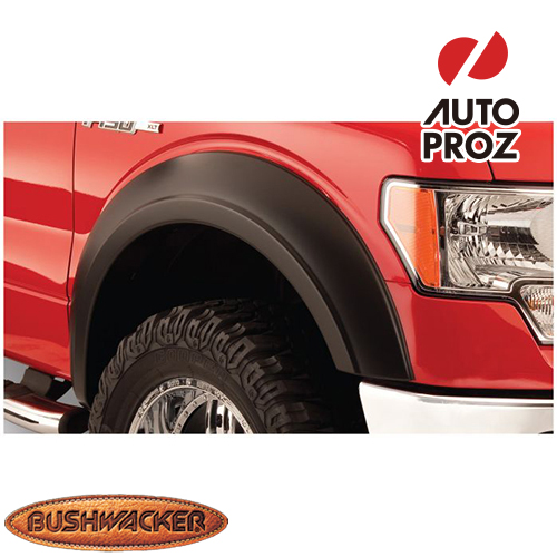 [Bushwacker 正規品] フォード E-150 1992-2014年 Extend-A-Fenderスタイル フェンダーフレア/オーバーフェンダー ※フロントのみ