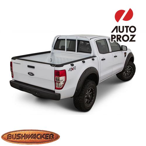 [Bushwacker 正規品] フォード レンジャー T6 5フィートベッド 2011-2015年 ベッドレールキャップ