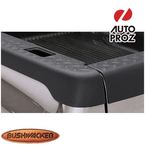 [Bushwacker 正規品] マツダ B4000 6フィートベッド ステークホールあり車両 1994-1997年 ベッドレールキャップ ダイアモンドブラック