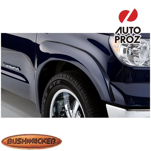 [Bushwacker 正規品] トヨタ タンドラ フリートサイド 5フィート6インチ/6フィート6インチ/8フィート1インチベッド 2007-2013年 OEスタイル フェンダーフレア/オーバーフェンダー ※フロントのみ