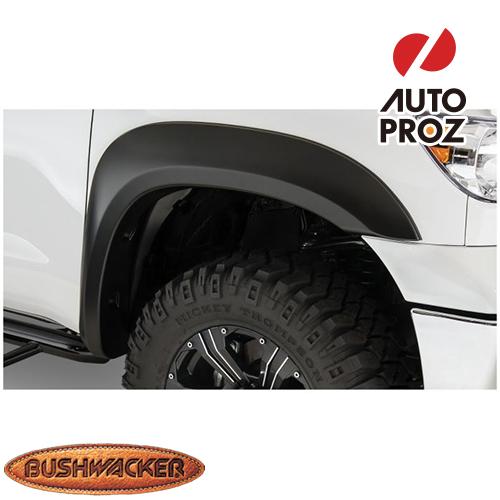 [Bushwacker 正規品] トヨタ タンドラ フリートサイド 5フィート6インチ/6フィート6インチ/8フィート1インチベッド 2007-2013年 Extend-A-Fenderスタイル フェンダーフレア/オーバーフェンダー ※フロントのみ