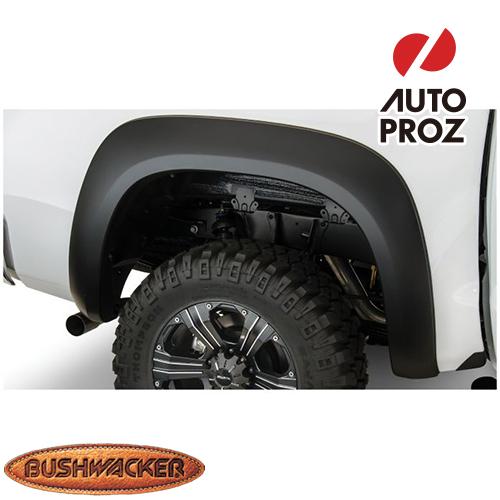 [Bushwacker 正規品] トヨタ タンドラ フリートサイド 5フィート6インチ/6フィート6インチ/8フィート1インチベッド 2007-2013年 Extend-A-Fenderスタイル フェンダーフレア/オーバーフェンダー ※リアのみ