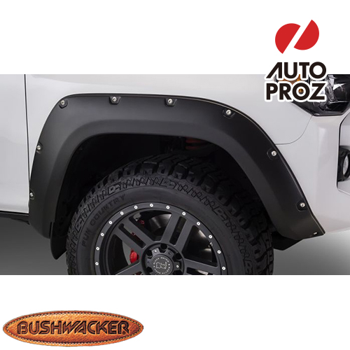 [Bushwacker 正規品] トヨタ 4ランナー 2014-2020年 ポケットスタイル フェンダーフレア/オーバーフェンダー ※フロントのみ